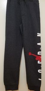 Air Jordan dark gray sweat pants